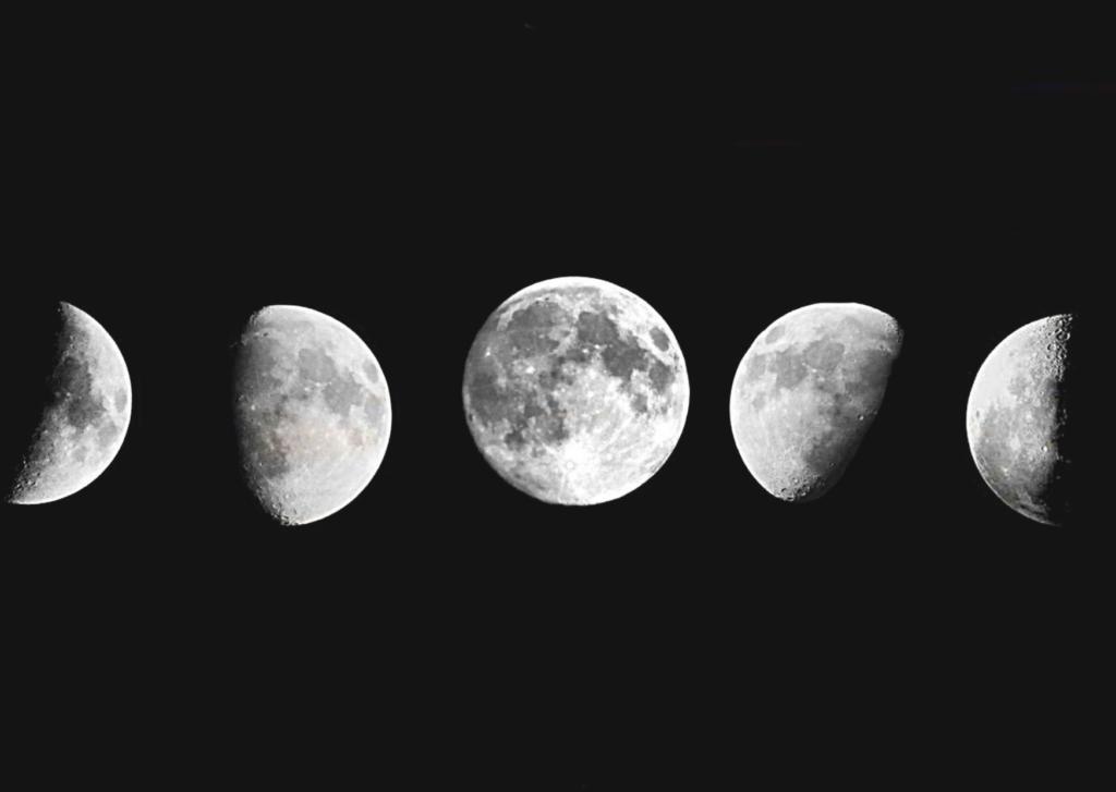 fases de la luna, yoga, meditacion