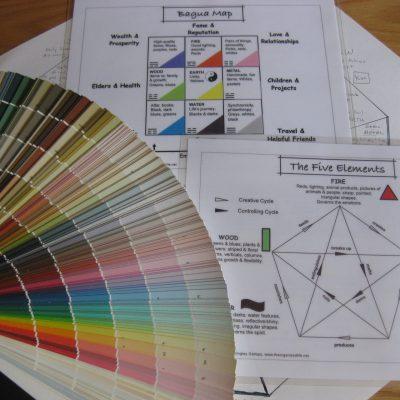 Colores y Areas